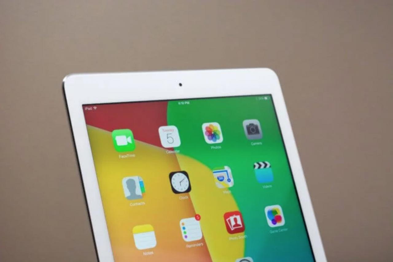 iPad в первой половине 2014 года